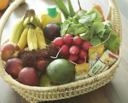 Gemüseabo oder Obst Abo verschkenen - Obstkorb oder Gemüsekiste online bestellen günstig und Preise im Vergleich