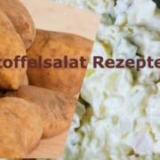 Kartoffel Salat Rezepte mit und ohne Mayo - Vegan oder Vegetarisch für X Personen