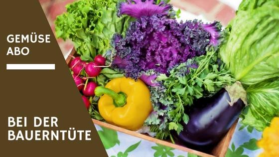 Gemüse Abo bei Bauerntüte