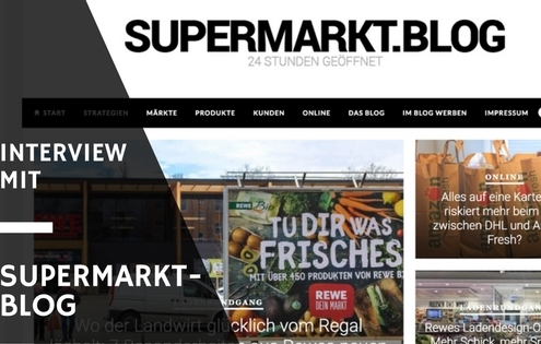 Supermarktblag Interview mit Foodblog