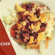 mexikanischer salat oder auch mexican salad
