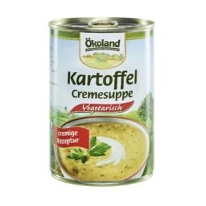 Bio Kartoffel Creme Suppe