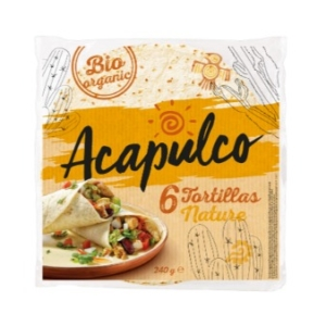 Bio Tortilla Wraps