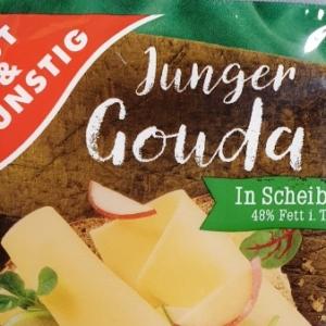 Junger Gouda Käse