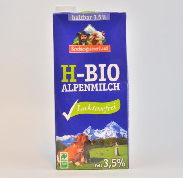 lactosefreie Bio H-Milch