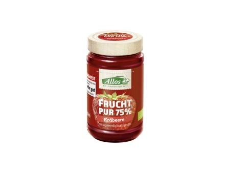 Bio Marmelade Frucht Pur Erdbeere