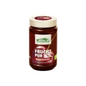 Bio Marmelade Sauerkirsch Frucht pur Sauerkirsche