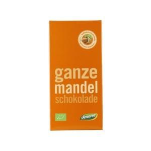 Bio Schokolade Ganze Mandel