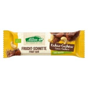 Bio Fruchtschnitte Kakao Cashew