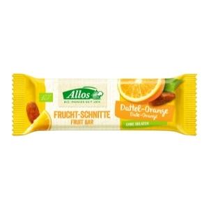 Bio Fruchtschnitte Dattel Orange
