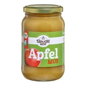 Bio Apfelmus mit Apfeldicksaft (360g) Glas