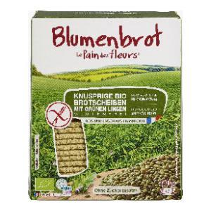 Bio Blumenbrot Grünen Linsen -glutenfrei- (2x75g)