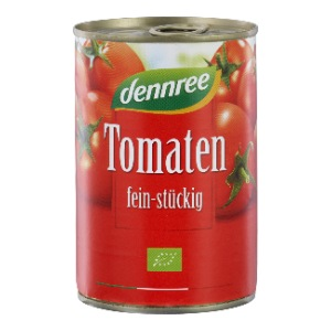 Bio Tomaten fein-stückig (400g)