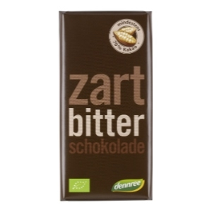 Bio Zartbitterschokolade (100g)